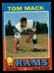 1971 Topps #94  Tom Mack  Front Thumbnail