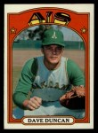 1972 Topps #17  Dave Duncan  Front Thumbnail