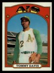 1972 Topps #41  Tommy Davis  Front Thumbnail