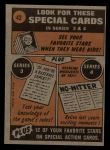 1972 Topps #42   -  Tommy Davis In Action Back Thumbnail