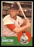 1963 Topps #267  Carl Sawatski  Front Thumbnail