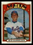 1972 Topps #53  Bud Harrelson  Front Thumbnail