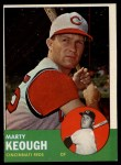 1963 Topps #21 ^COR^ Marty Keough  Front Thumbnail