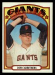 1972 Topps #76  Don Carrithers  Front Thumbnail