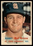 1957 Topps #94  Bobby Del Greco  Front Thumbnail