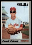 1970 Topps #252  Lowell Palmer  Front Thumbnail