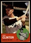 1963 Topps #96  Lou Clinton  Front Thumbnail