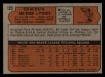 1972 Topps #123  Ed Acosta  Back Thumbnail