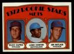 1972 Topps #141   -  Jon Matlack / Buzz Capra / Leroy Stanton Mets Rookies   Front Thumbnail