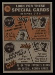 1972 Topps #174   -  Clay Kirby In Action Back Thumbnail