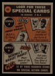 1972 Topps #44   -  Rick Wise In Action Back Thumbnail