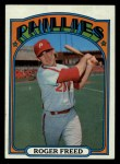 1972 Topps #69  Roger Freed  Front Thumbnail
