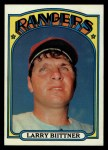 1972 Topps #122  Larry Biittner  Front Thumbnail