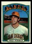 1972 Topps #194  Fred Norman  Front Thumbnail