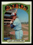 1972 Topps #211  Gary Sutherland  Front Thumbnail