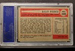 1954 Bowman #102  Bill Pierce  Back Thumbnail