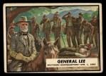 1962 Topps Civil War News #39   General Lee Front Thumbnail