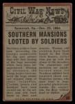 1962 Topps Civil War News #83   The Looters Back Thumbnail