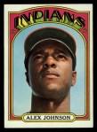 1972 Topps #215  Alex Johnson  Front Thumbnail