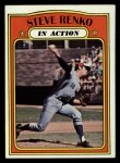 1972 Topps #308   -  Steve Renko In Action Front Thumbnail