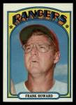 1972 Topps #350  Frank Howard  Front Thumbnail