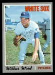 1970 Topps #342  Wilbur Wood  Front Thumbnail