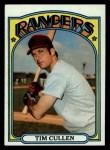 1972 Topps #461  Tim Cullen  Front Thumbnail