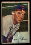 1952 Bowman #7  Mike Garcia  Front Thumbnail