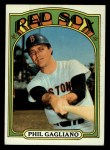 1972 Topps #472  Phil Gagliano  Front Thumbnail
