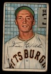 1952 Bowman #138  Ted Wilks  Front Thumbnail