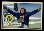 1951 Bowman #40  Bob Waterfield  Front Thumbnail