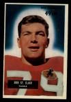 1955 Bowman #101  Bob St. Clair  Front Thumbnail