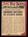 1965 A and BC England Civil War News #80   City in Flames Back Thumbnail