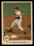 1959 Fleer #72   -  Ted Williams Hitting Fundamentals #2 Front Thumbnail