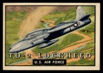 1952 Topps Wings #141   TO-2 Lockheed Front Thumbnail