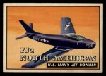 1952 Topps Wings #137   FJ2 North American Front Thumbnail