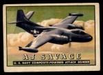1952 Topps Wings #44   AJ Savage Front Thumbnail