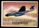 1952 Topps Wings #171   Meteor N.F. MK-11 Front Thumbnail