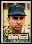 1952 Topps #169  Howie Judson  Front Thumbnail