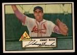 1952 Topps #19 BLK Johnny Bucha  Front Thumbnail
