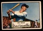 1952 Topps #52  Don Mueller  Front Thumbnail