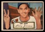 1952 Topps #5 RED Larry Jansen  Front Thumbnail