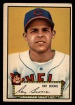 1952 Topps #55 RED Ray Boone  Front Thumbnail