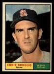 1961 Topps #420  Ernie Broglio  Front Thumbnail
