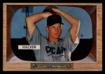 1955 Bowman #8  Warren Hacker  Front Thumbnail