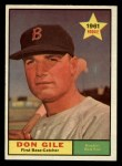 1961 Topps #236  Don Gile  Front Thumbnail