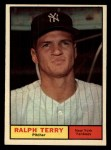 1961 Topps #389  Ralph Terry  Front Thumbnail