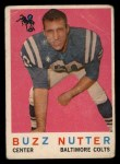 1959 Topps #78  Buzz Nutter  Front Thumbnail