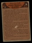 1974 Topps Football Team Checklists #15   Vikings Team Checklist Back Thumbnail