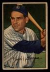 1952 Bowman #1  Yogi Berra  Front Thumbnail